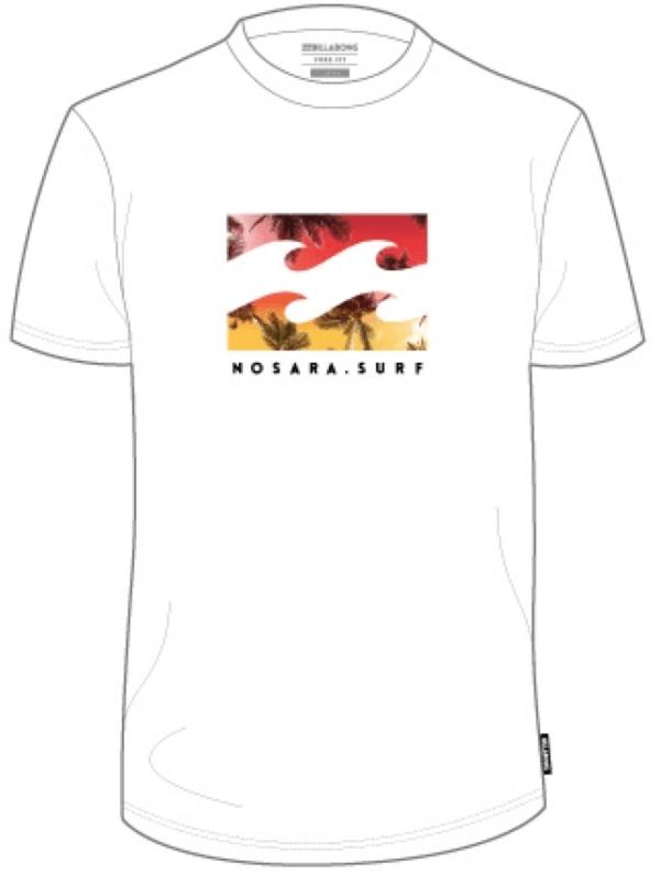Nosara Billabong White T-Shirt